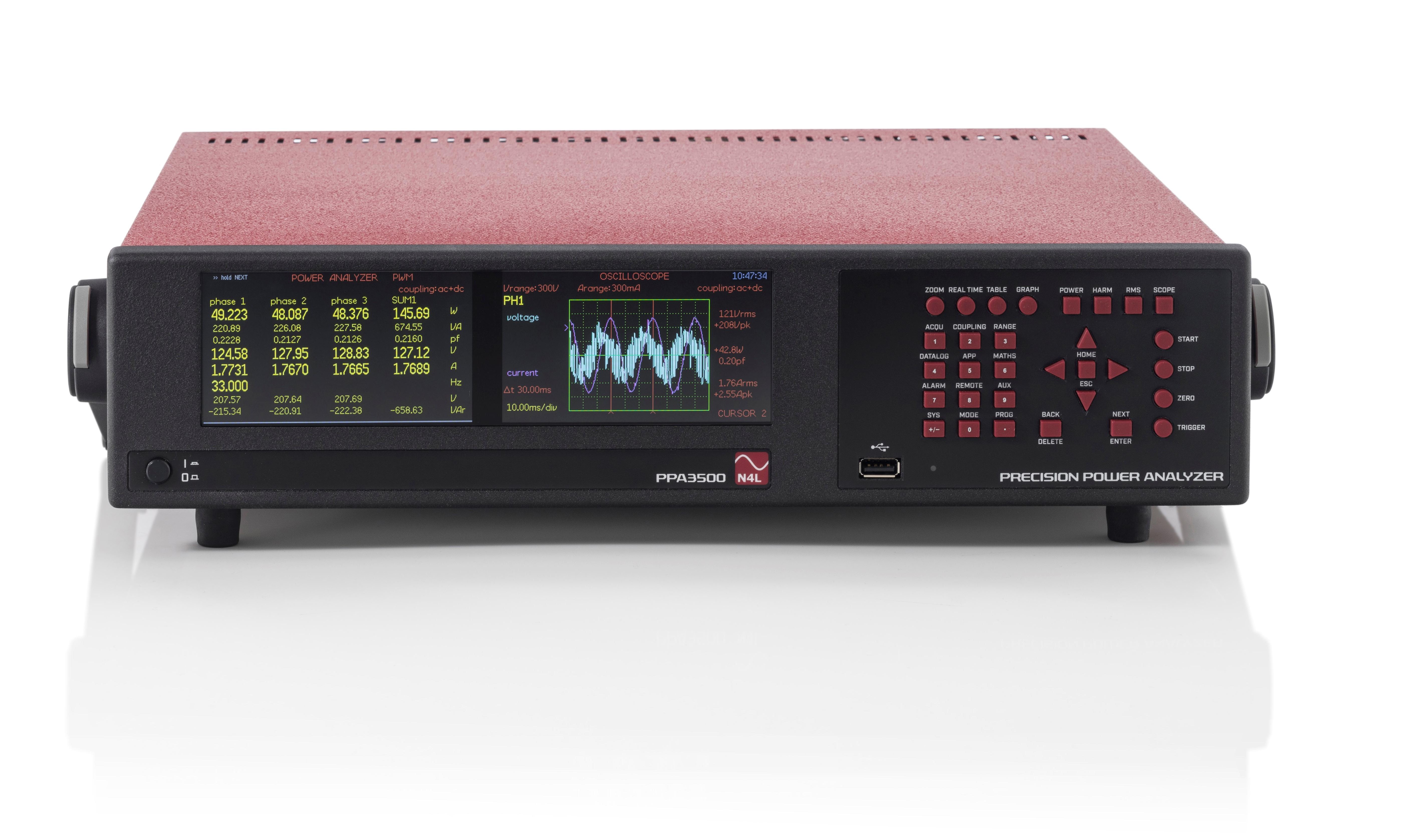 N4L PPA3500 serie power analyzer