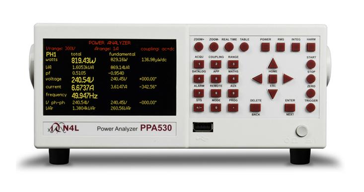 Newtons4th PPA500 serie power analyzer