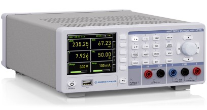 R&S/HAMEG HMC8015 power analyzer