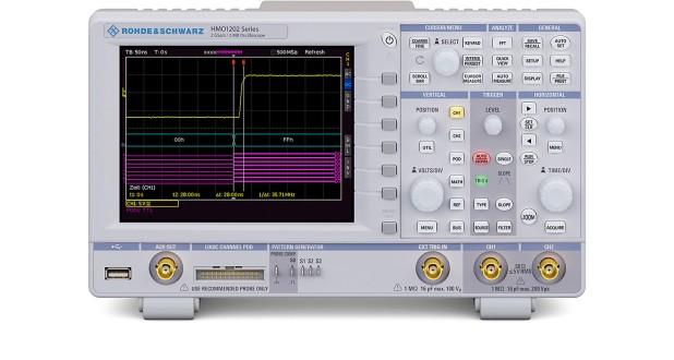 R&S HMO1202 Digital Oscilloscope