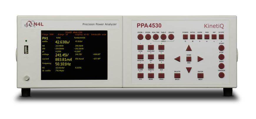 Newtons4th PPA4500 serie power analyzer