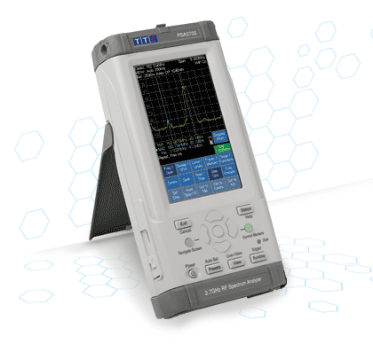 TTi PSA II serie spectrum analyzer