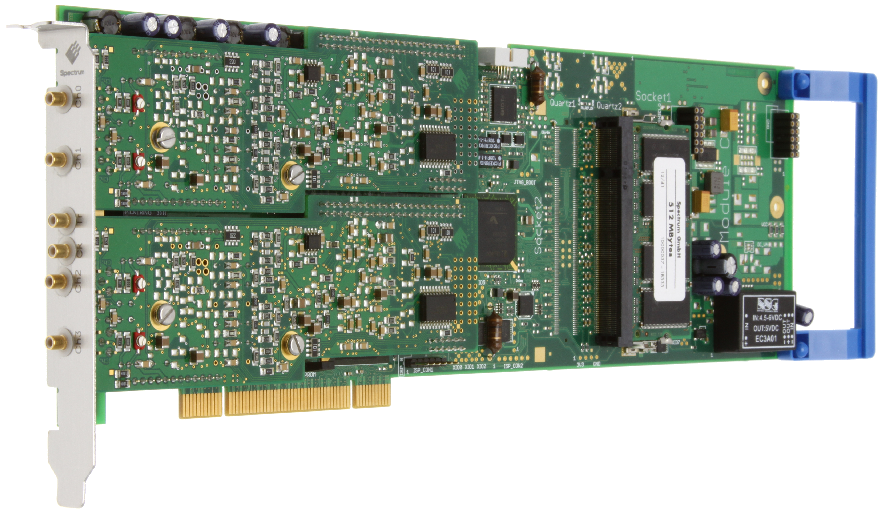 Spectrum M2i.30xx serie digitizer kaarten