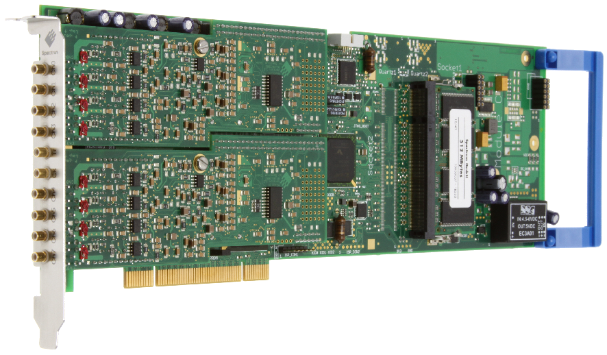Spectrum M2i.31xx serie digitizer kaarten