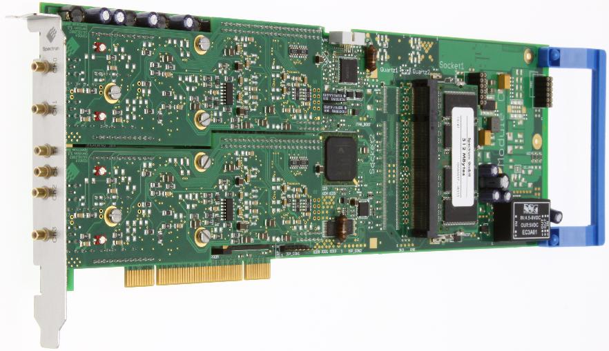 Spectrum M2i.40xx serie digitizer kaarten