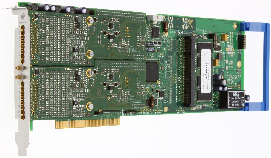 Spectrum M2i.47xx serie digitizer kaarten