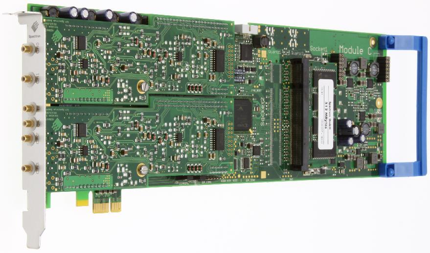 Spectrum M2i.60xx serie arbitrary waveform generatoren