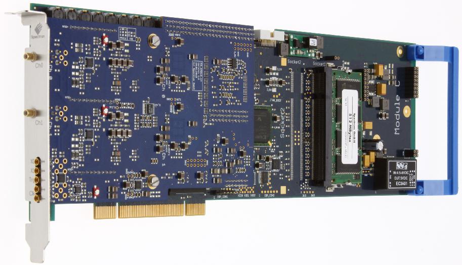 Spectrum M3i.21xx serie digitizer kaarten