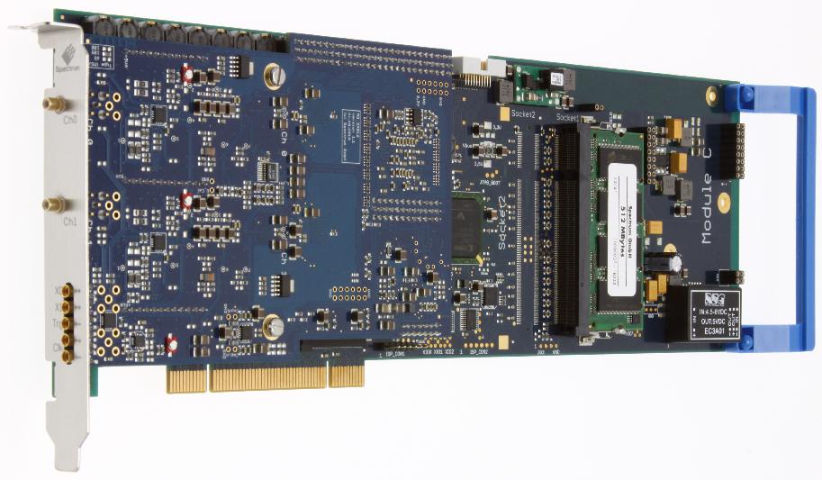 Spectrum M3i.48xx serie digitizer kaarten