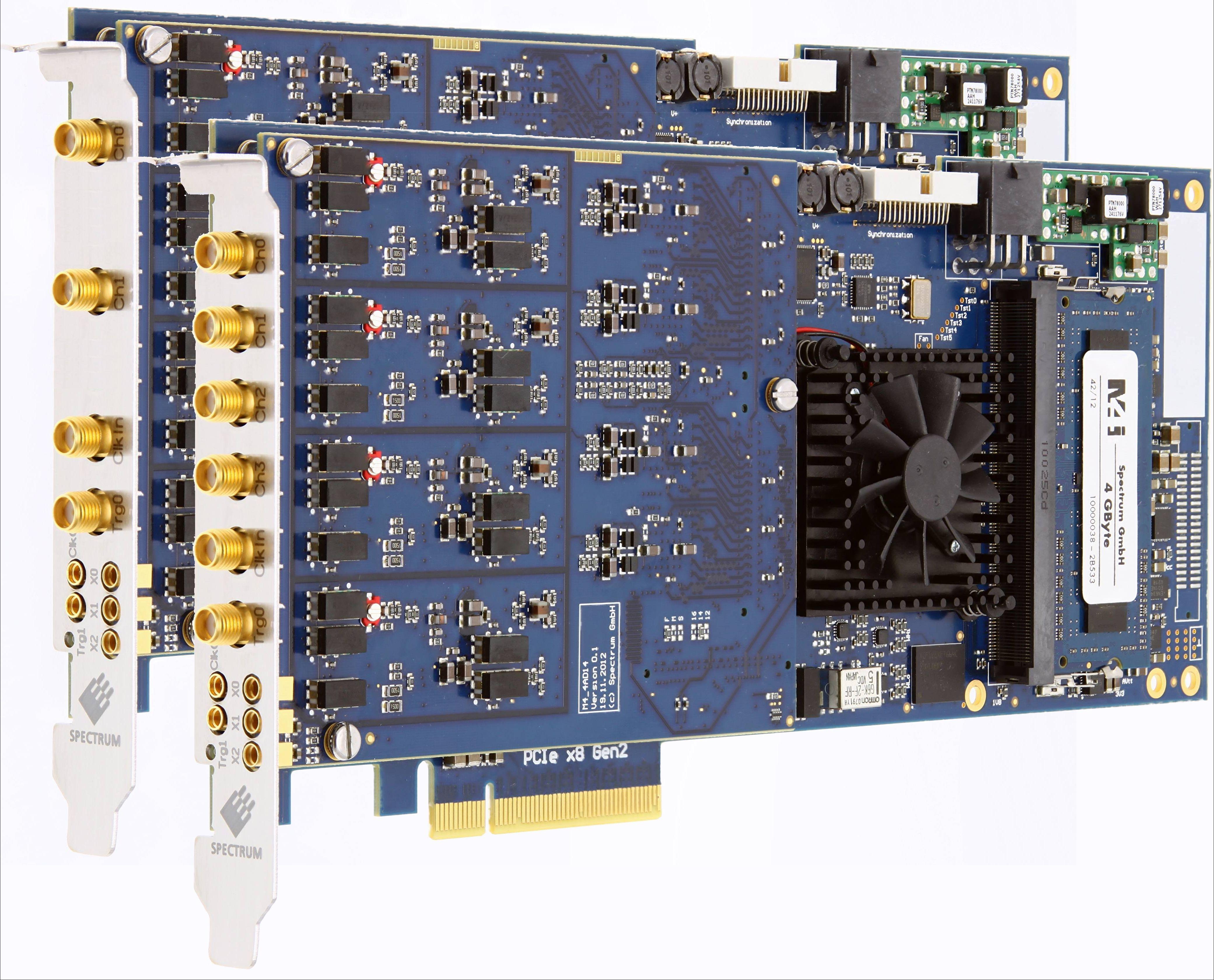 Spectrum M4i.441x-8 serie digitizer kaarten