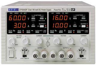 DC voedingen CPX200D(P)