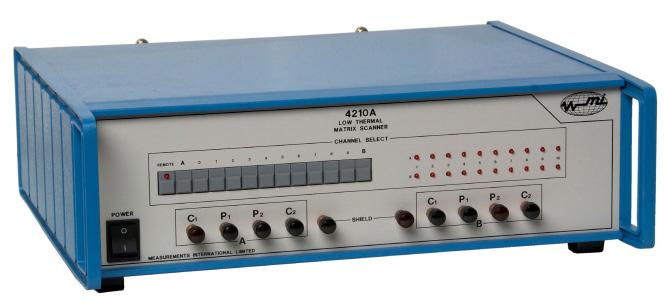 MI 4200 series low thermal scanners
