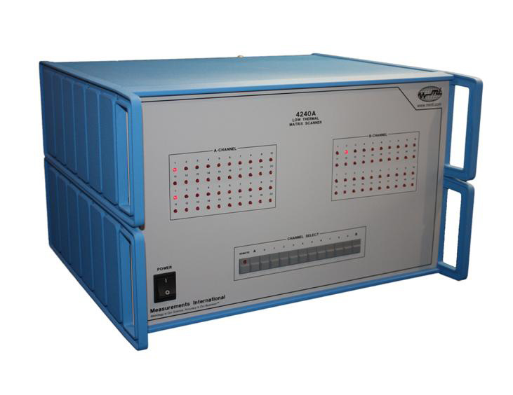 MI model 4240A Low Thermal Matrix Scanner
