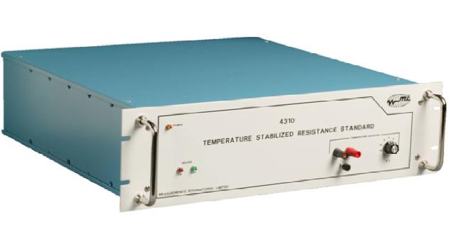 MI model 4310 temperatuur gestabiliseerde weerstandsstandaard