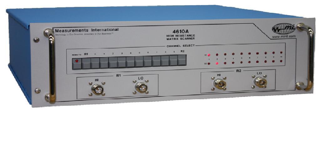 MI model 4610A en 4620A Coaxiale High Resistance Scanners