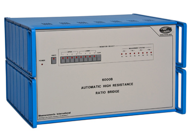 MI 6000B automatische hoge weerstand ratio brug