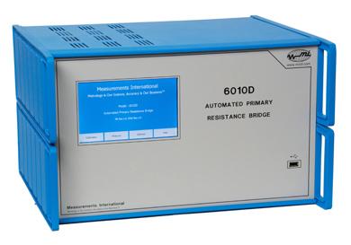 MI model 6010D geautomatiseerde primaire weerstand/thermometrie brug