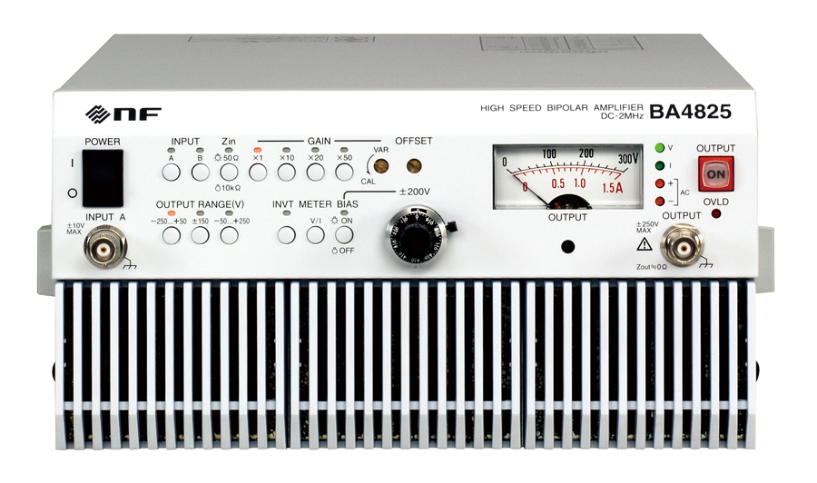 NF BA4825/BA4850 bipolaire amplifiers
