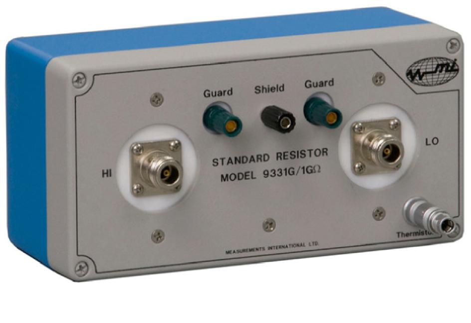 MI 9331G serie hoge precisie weerstandstandaarden
