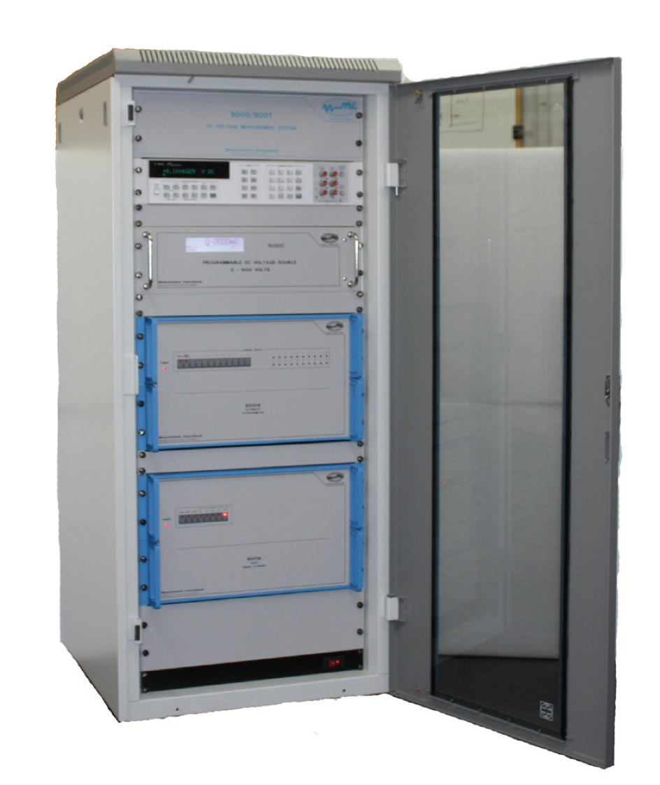 MI 8000B potentiometer binaire voltage deler