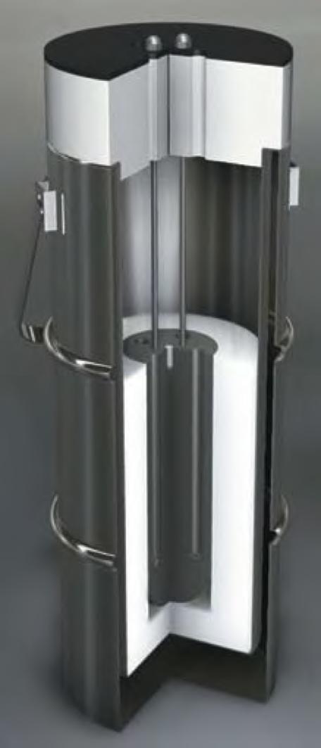 Isotech eenvoudig vloeibaar stikstofapparaat 461