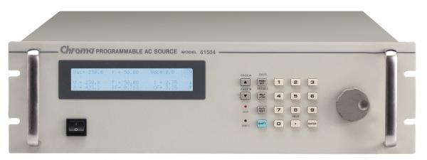 Chroma 61500 serie enkelfase AC voedingen