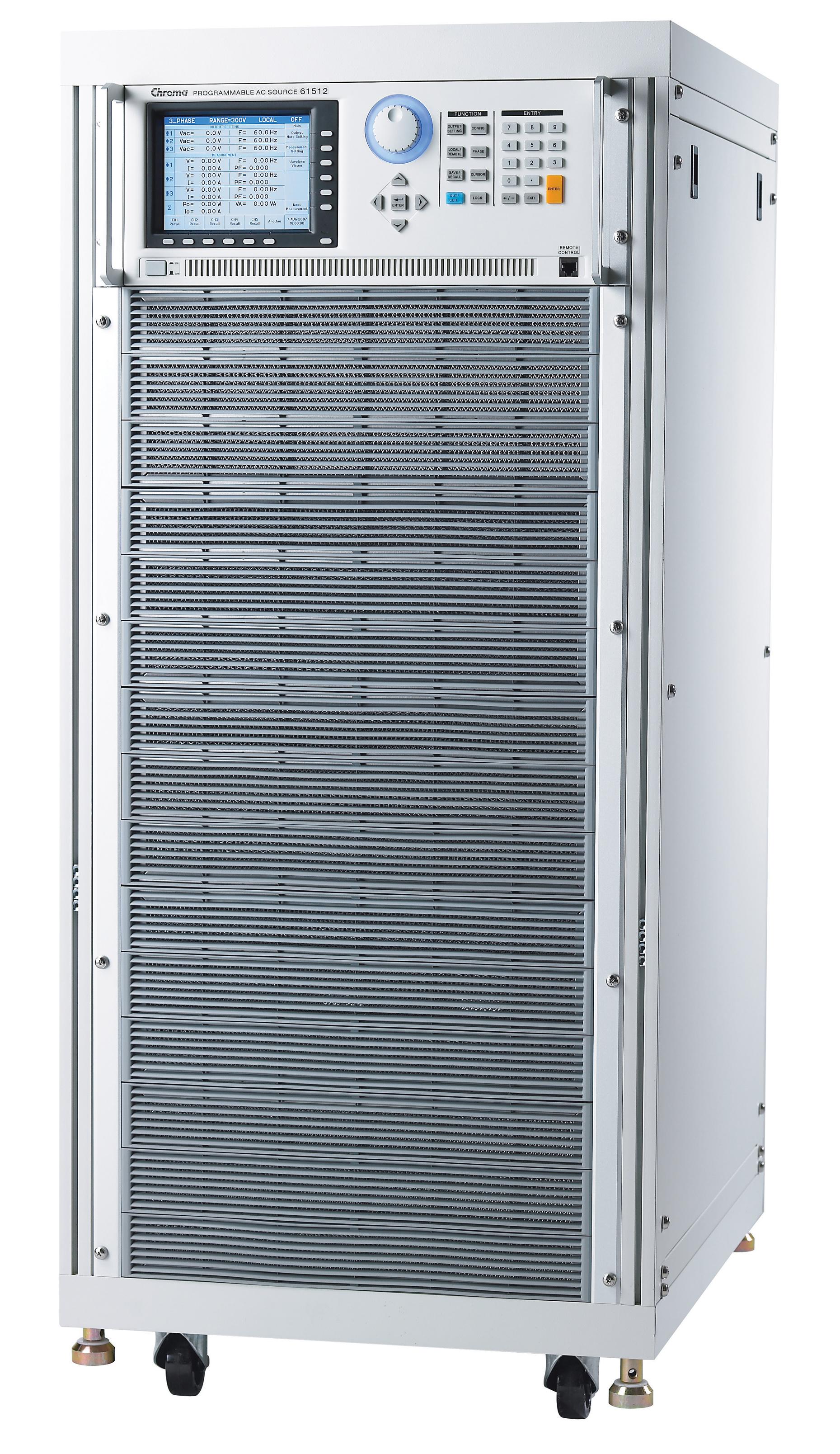 Chroma 61500 serie driefase AC voedingen