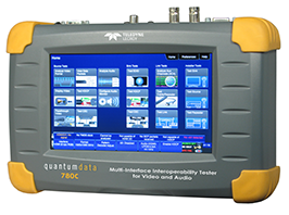 Quantum Data 780C portable video generator / video analyser