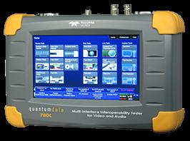 Quantum Data 780C portable video generator / video analyser