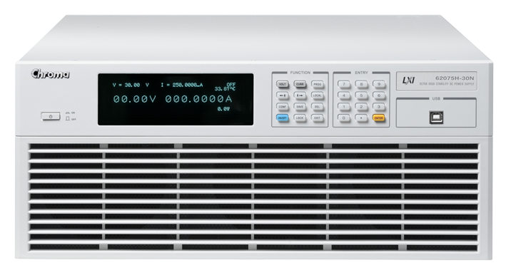 Chroma 62000H serie DC voedingen 5 kW -15 kW