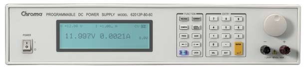 De 62000P serie DC voedingen van Chroma