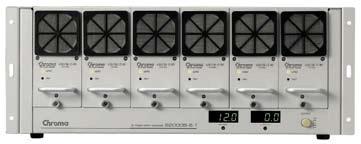 Chroma 62000B serie modulaire DC voedingen