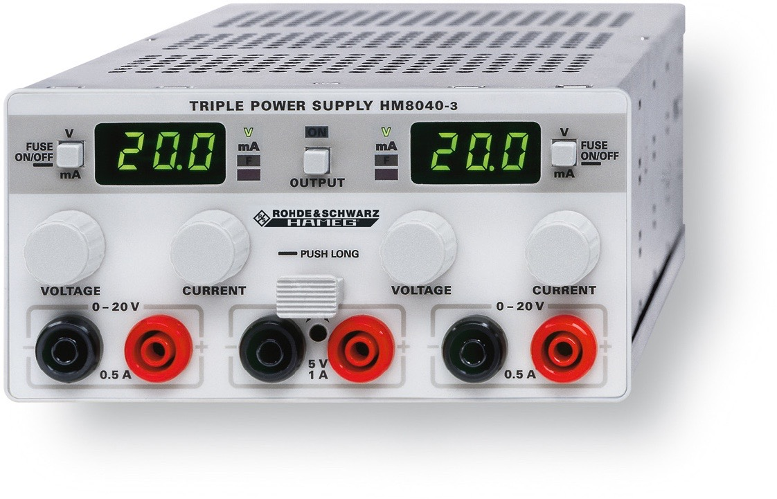 R&S HM8040 DC voeding
