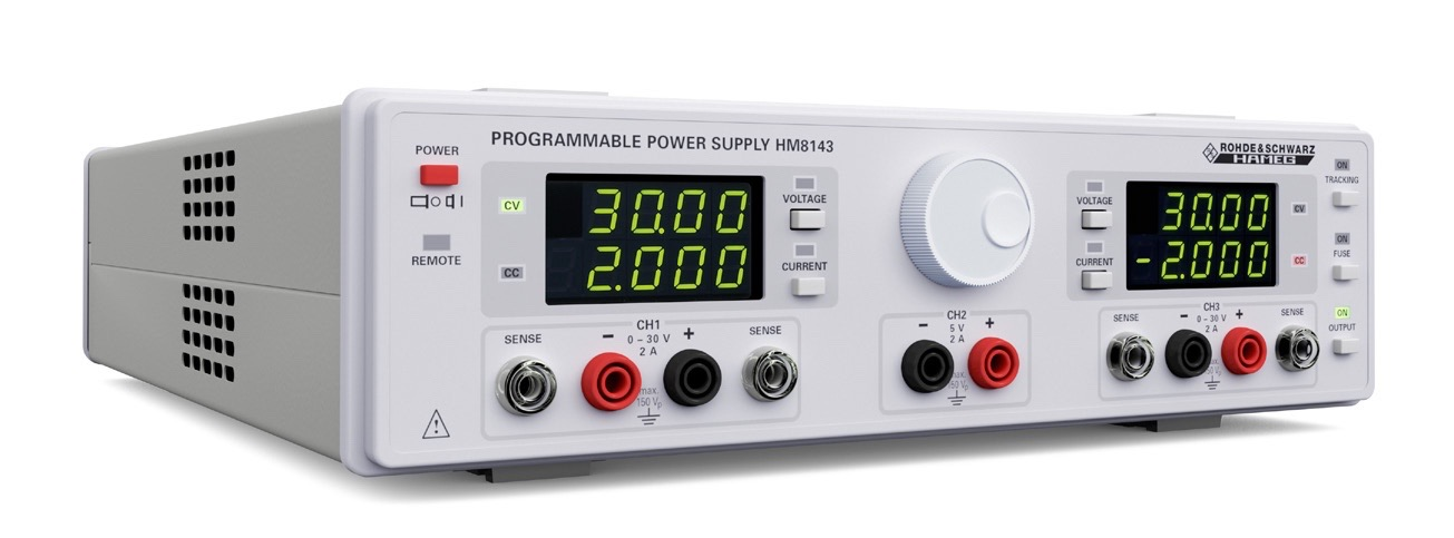 R&S HM8143 serie arbitrary power supply