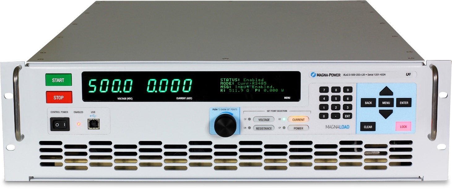 Magna-Power MagnaLOAD ALx serie DC belastingen 1,25 kW - 2,5 kW