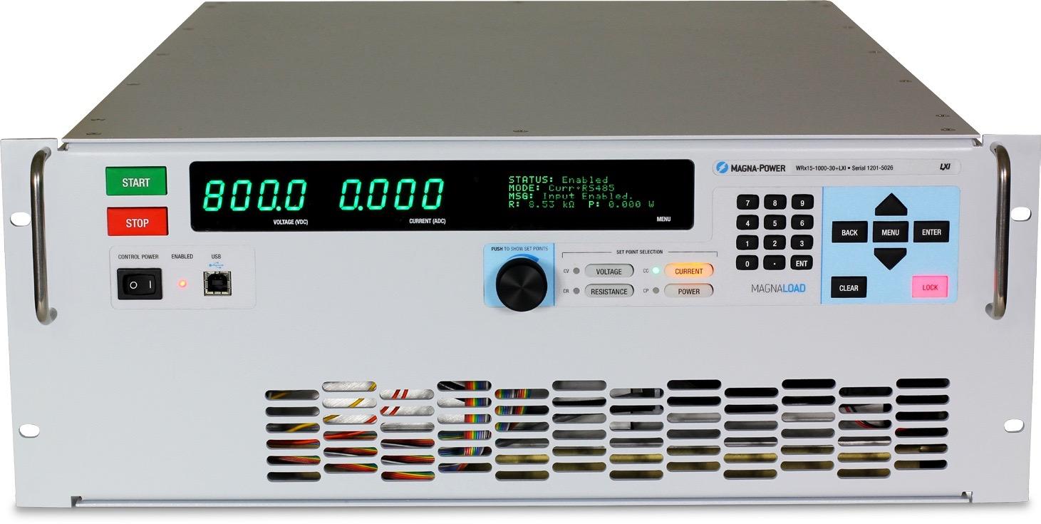Magna-Power MagnaLOAD WRx serie DC belastingen 15 kW - 120 kW+