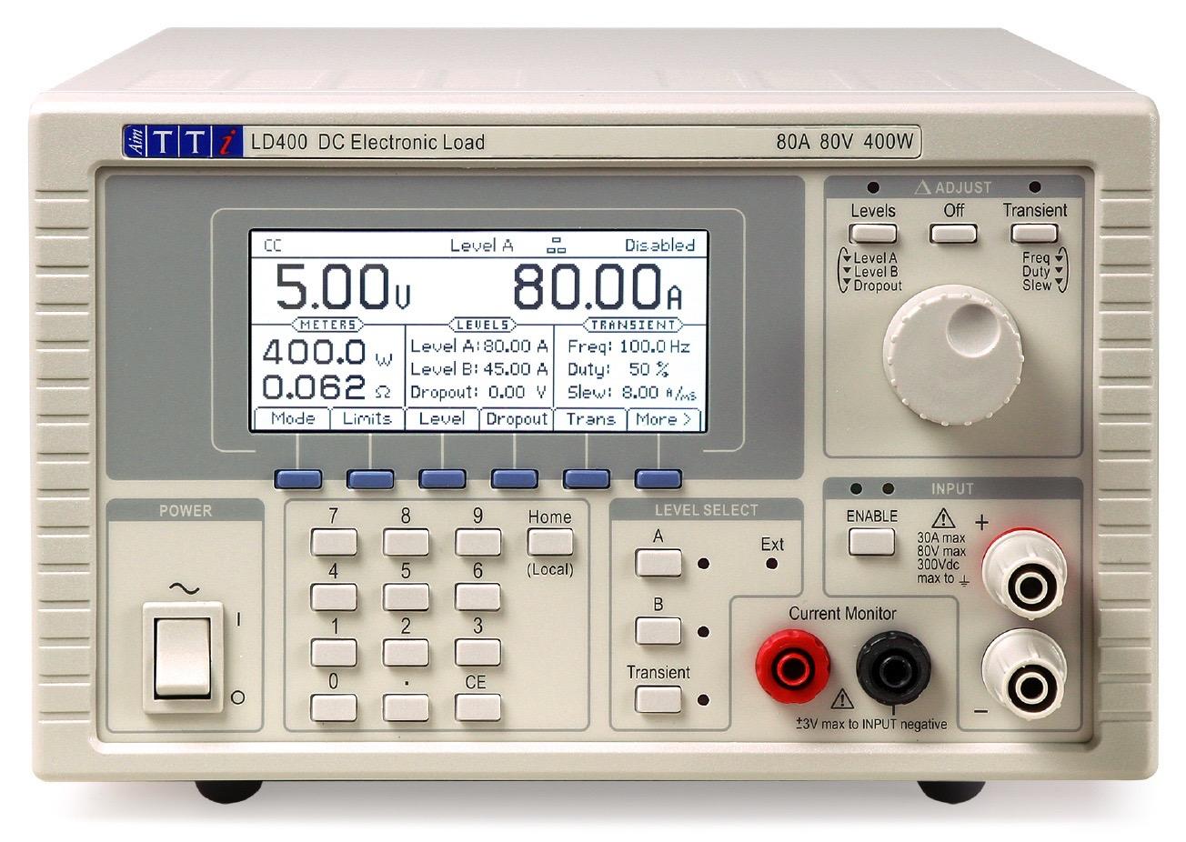 TTi LD400 DC load