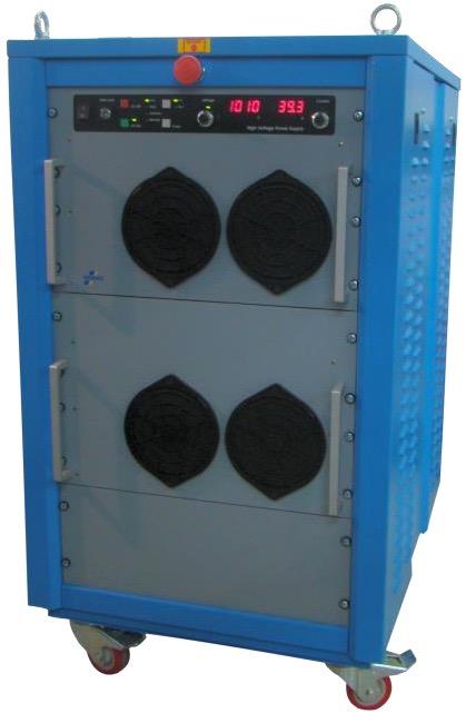 Technix CCR serie capacitor chargers 7,5 kJ/s tot 20 kJ/s