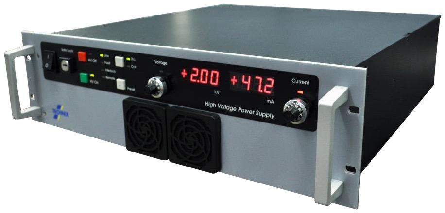 Technix SR serie DC  300W – 3 kW hoogspannings (HV) voedingen