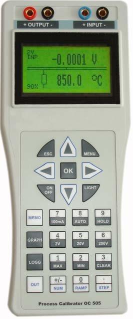 De Meatest M505 Process Calibrator – Datalogger M505D