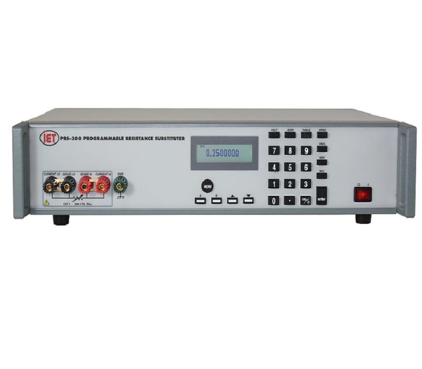 IET PRS-300 Programmeerbare weerstandsdecade Substituut