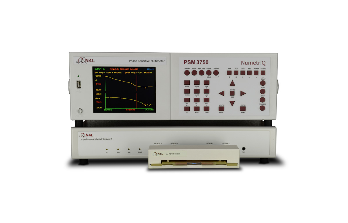 N4L Impedance analyzer PSM3750
