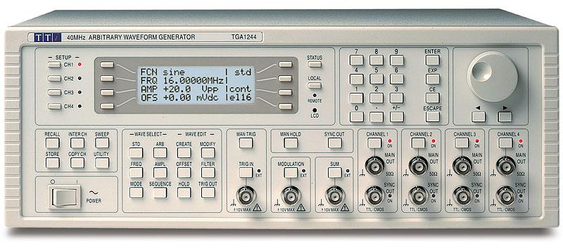 Aim-TTi TGA1200 Series functiegeneratoren