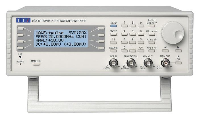 Aim-TTi TG2000 serie functiegeneratoren