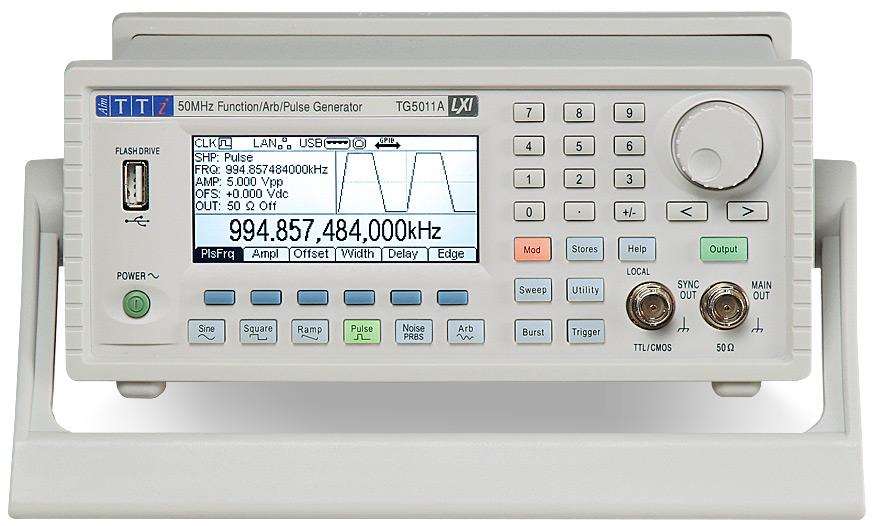 Aim-TTi TG251xA / TG501xA Series functiegeneratoren