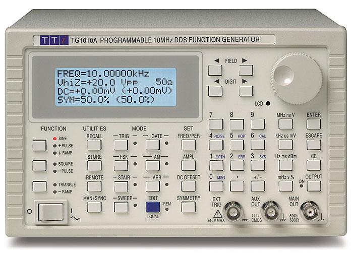 Aim-TTi TG1010A Series functiegenerator