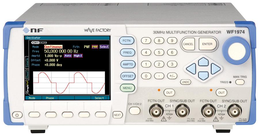 NF WF1973/WF1974 functiegeneratoren