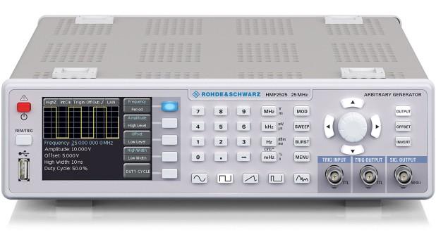 R&S HMF2525 / HMF2550 functiegeneratoren