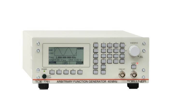 Toellner TOE 7761 functiegeneratoren