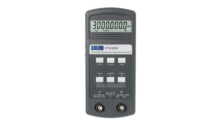 AimTTi PFM3000 draagbare Frequency Counter